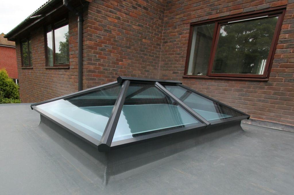 Black Aluminium Roof Lantern Dartford