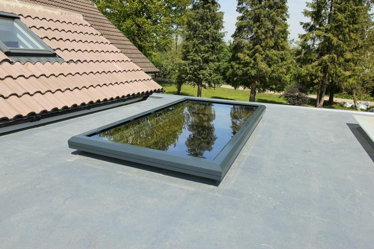 Aluminium Flat Roof Skylight Dartford, Kent
