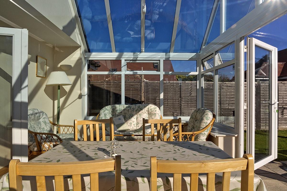 Inside Double Glazing Edwardian Conservatory, Kent