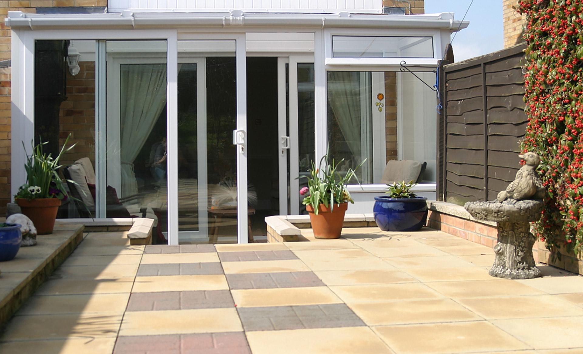 uPVC Lean-to Garden Room Extension