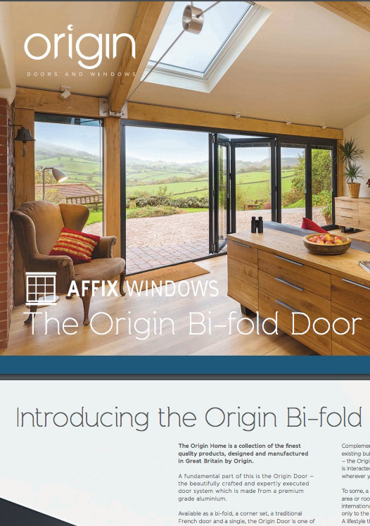 Origin Bi-Fold Door Brochure