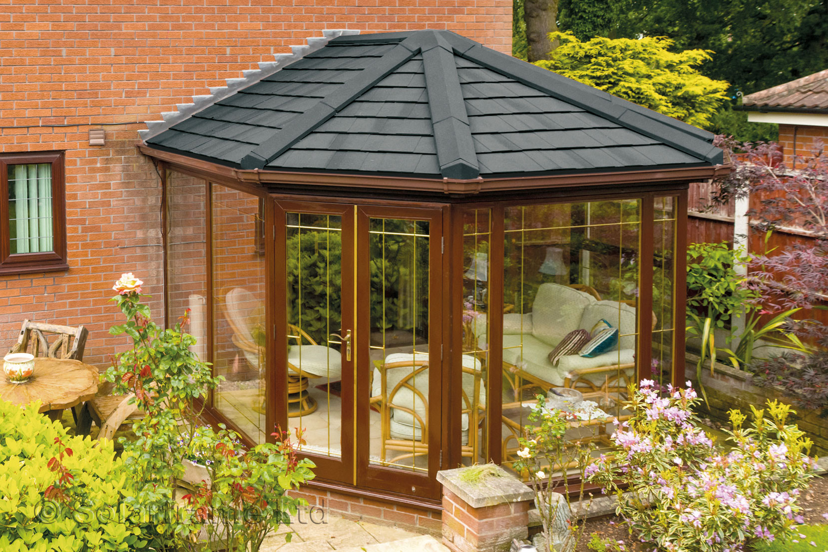 High-Quality Tiled Conservatory Roofs