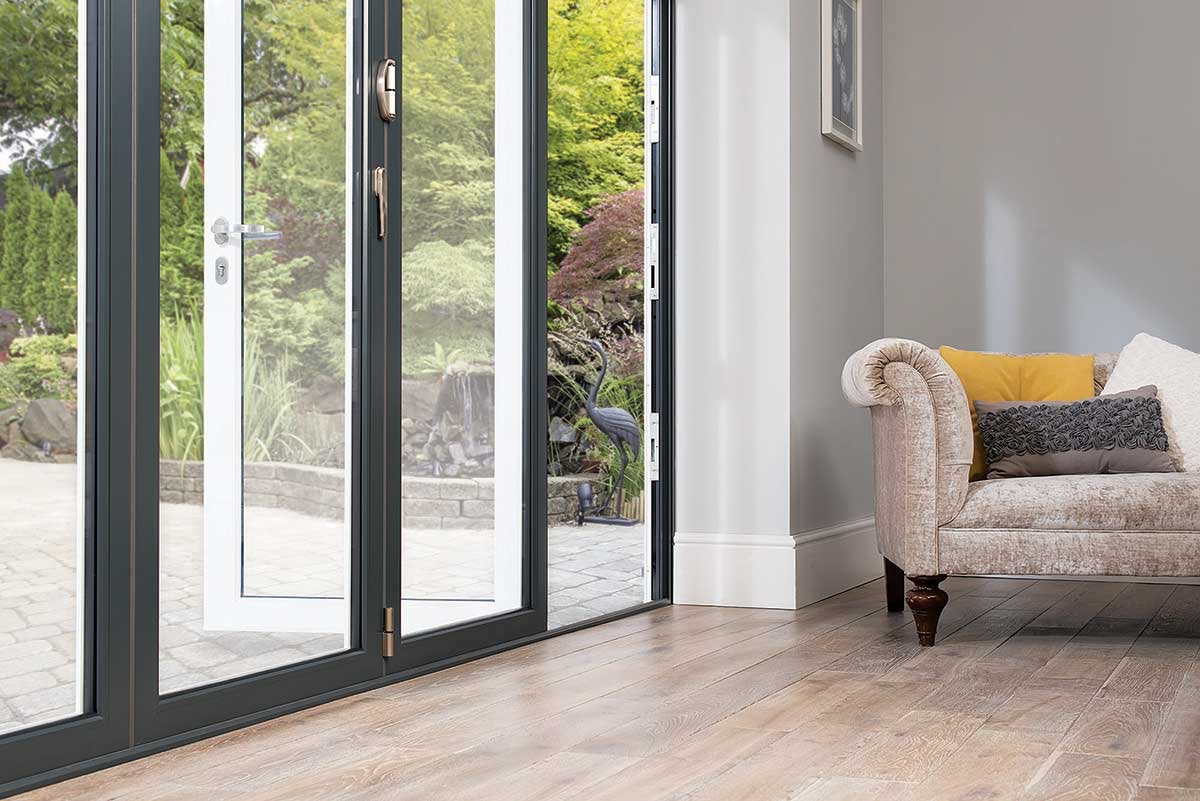 Slimline Bi-Folding Doors in Dartford
