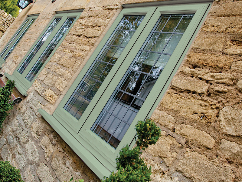 Green Casement Windows Kent