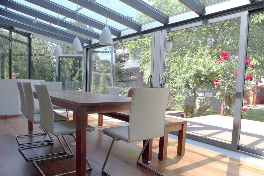 Extensions with bi-fold doors