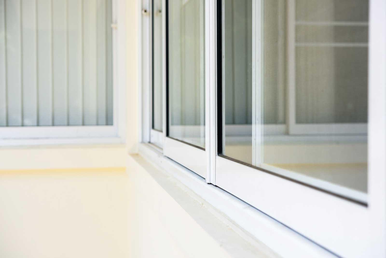 Aluminium patio door design