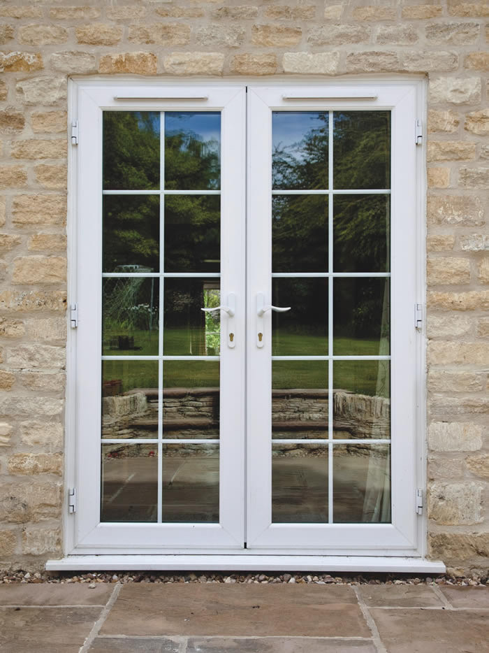 Coloured French Doors Kent
