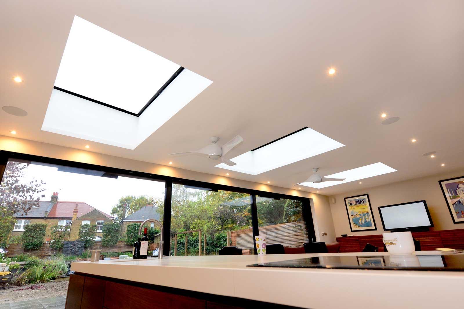 Aluminium Flat Roof Lanterns Kent