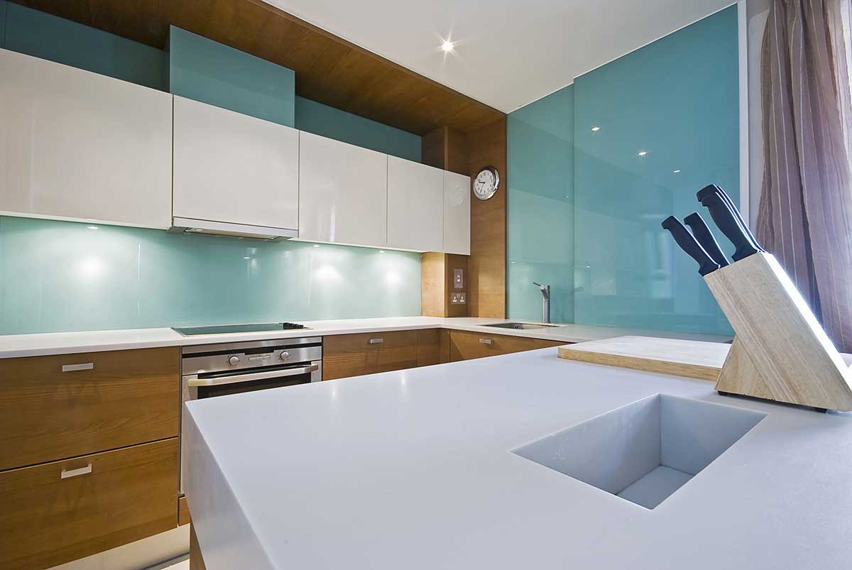 Kitchen Splashbacks in Kent
